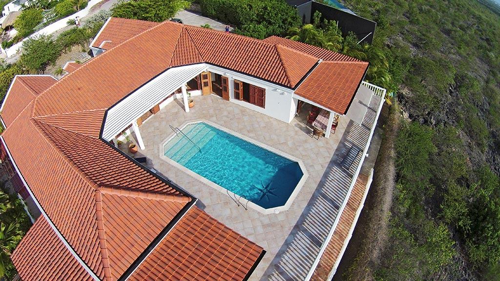 Casa Caribe aerial view