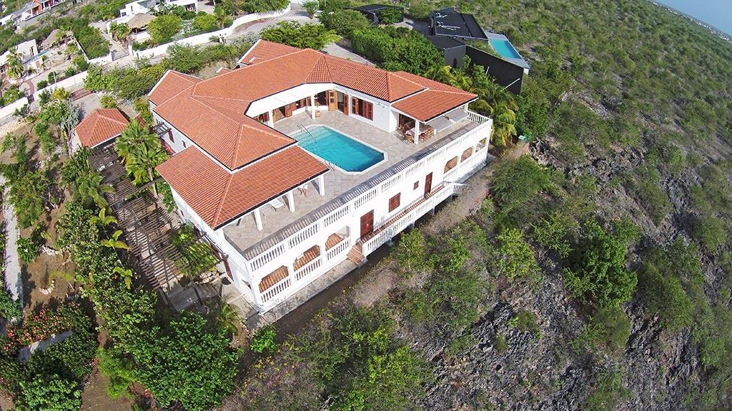 drone view casa caribe