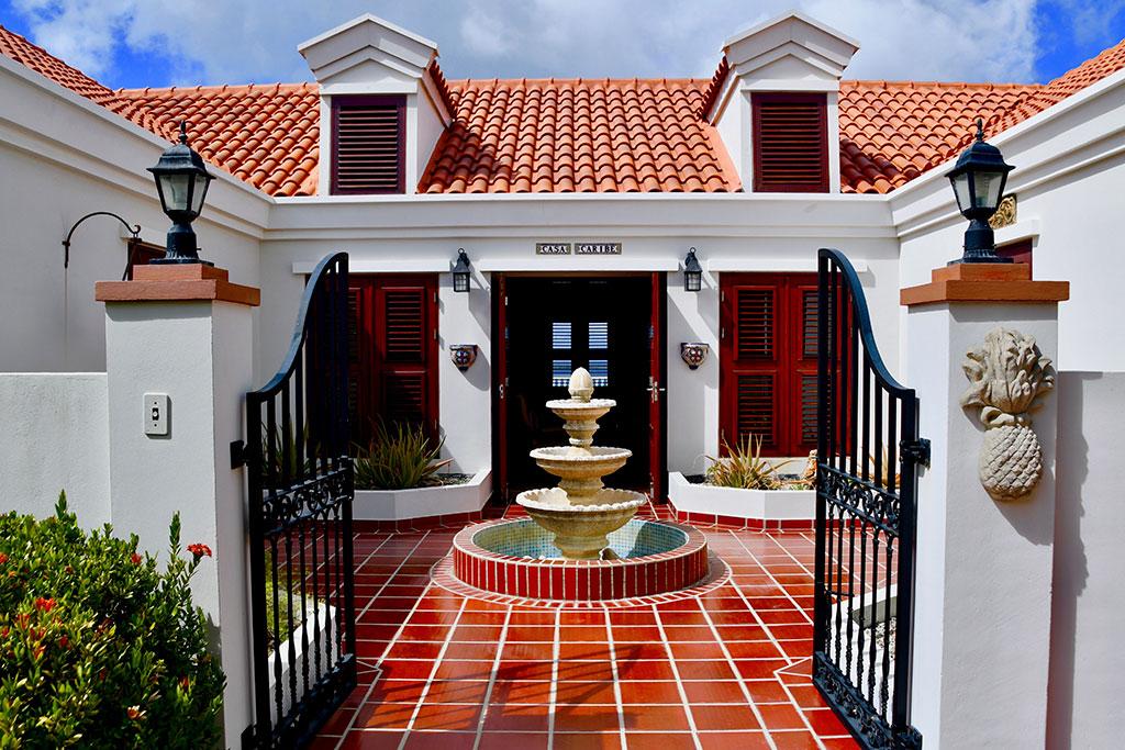 casa caribe entrance