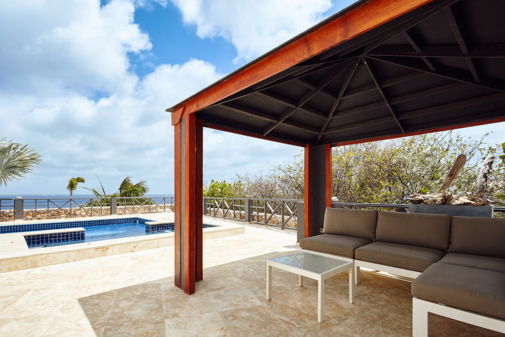 cabana and pool view villa joya