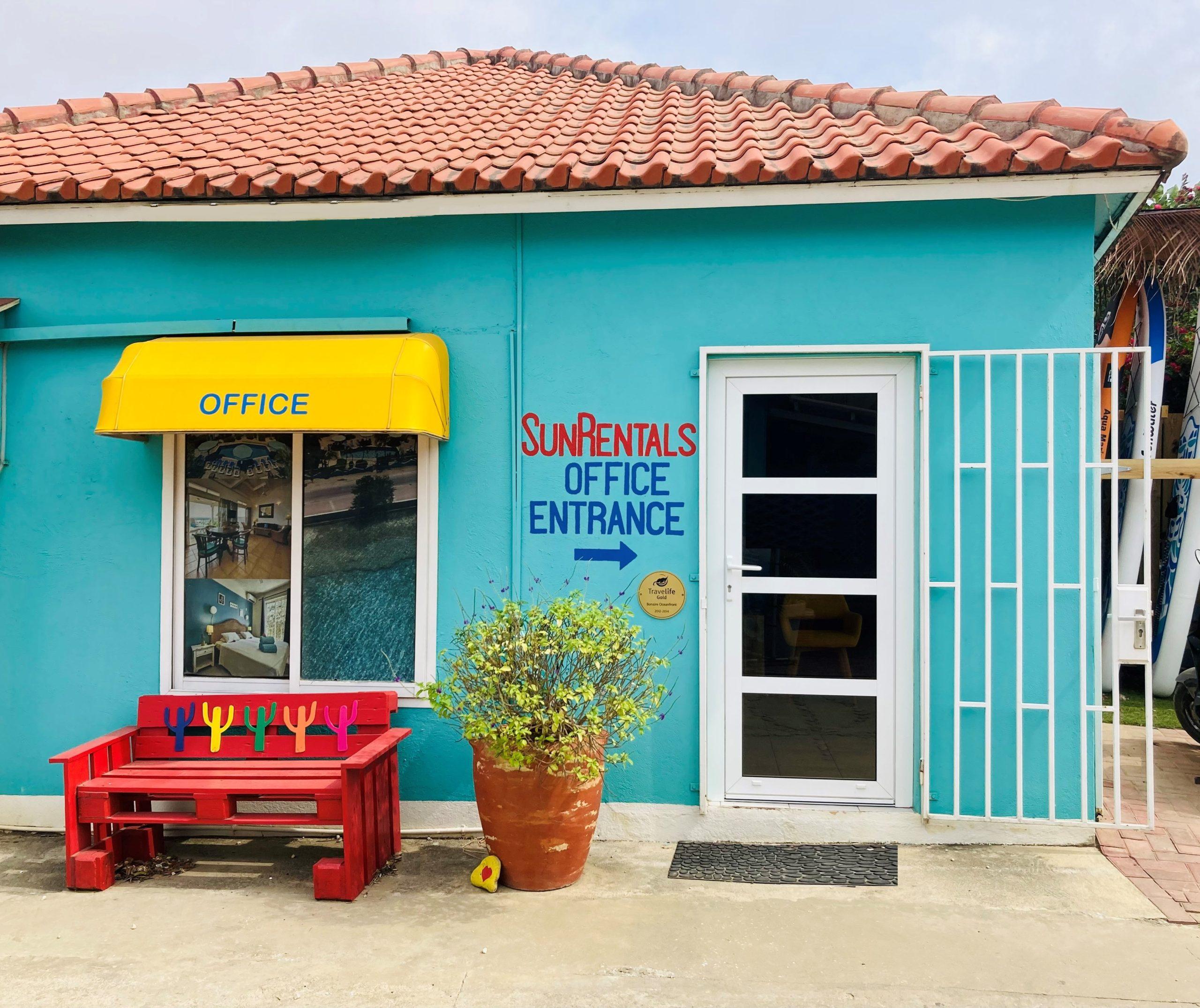Sunrentals Bonaire office